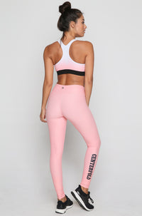 Centerfold Sports Bra in Bubblegum