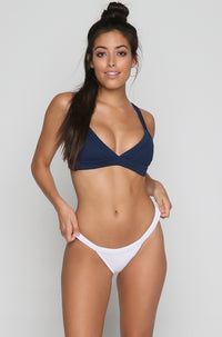 Red Eye Bikini Top in Midnight