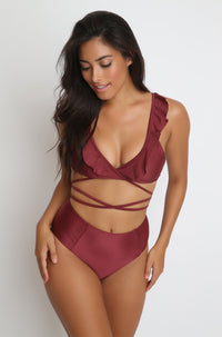 Gaby Top in Sangria