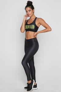 Mermaid Leggings in Black
