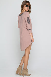 Desert Sky Dress in Taupe