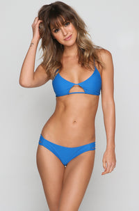 Tilloo Bikini Top in Deep Sea