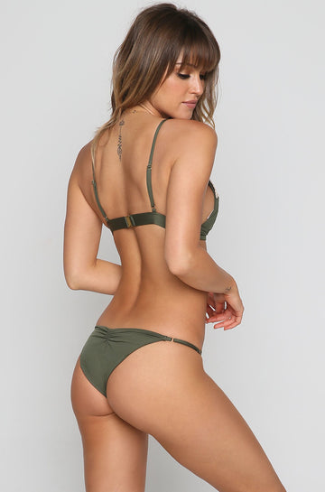 Eclipse Skimpy Bikini Bottom in Fern