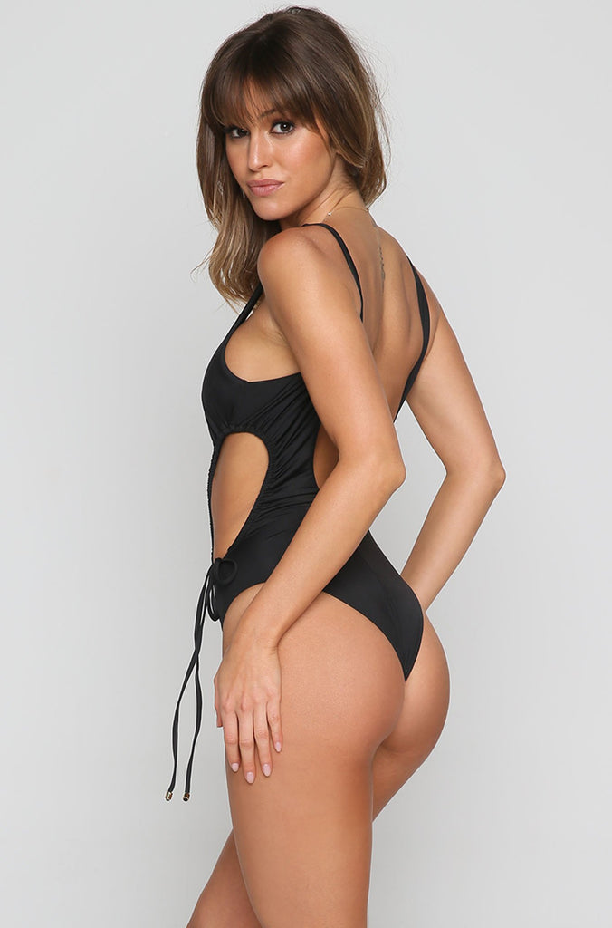 Sunbeam One Piece in Black