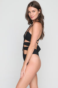 Woodstock One Piece in Black
