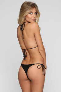 INDAH 2016 Tucker Bikini Top in Black|ISHINE365 - 5