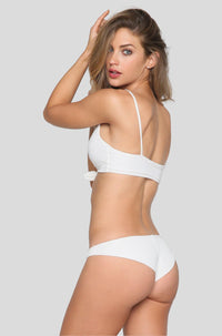 Greer Bikini Bottom in White