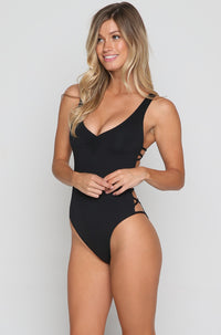 Ricki One Piece in Black