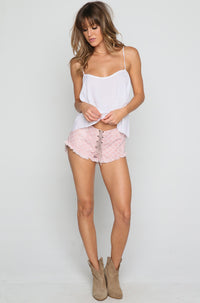 Vibe Shorts in Bronze Casablanca
