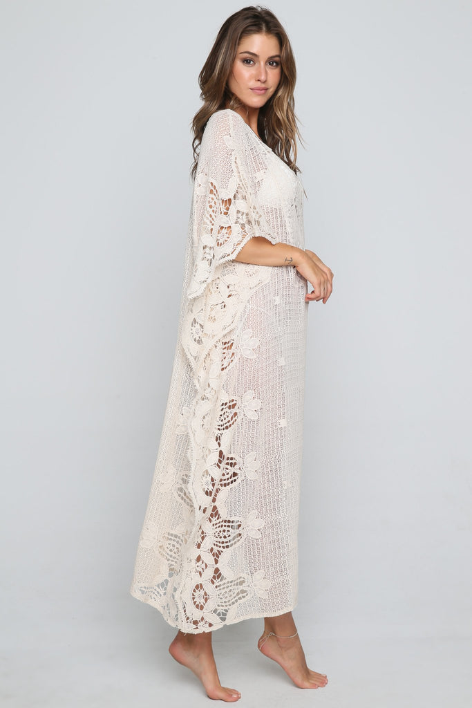 Maxi Crochet Cover Up