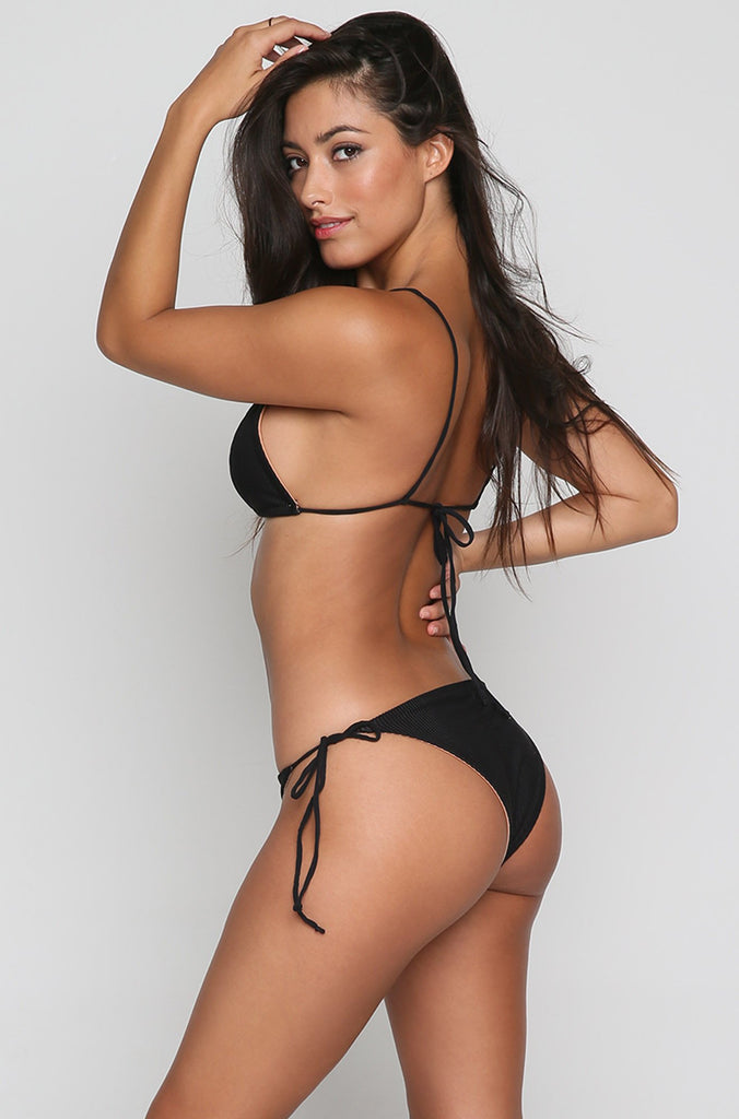 Baldwin Bikini Bottom in Black
