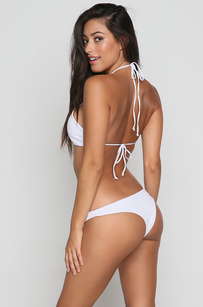 Madison Bikini Bottom in White