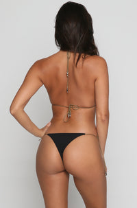 Devon Bikini Bottom in Black