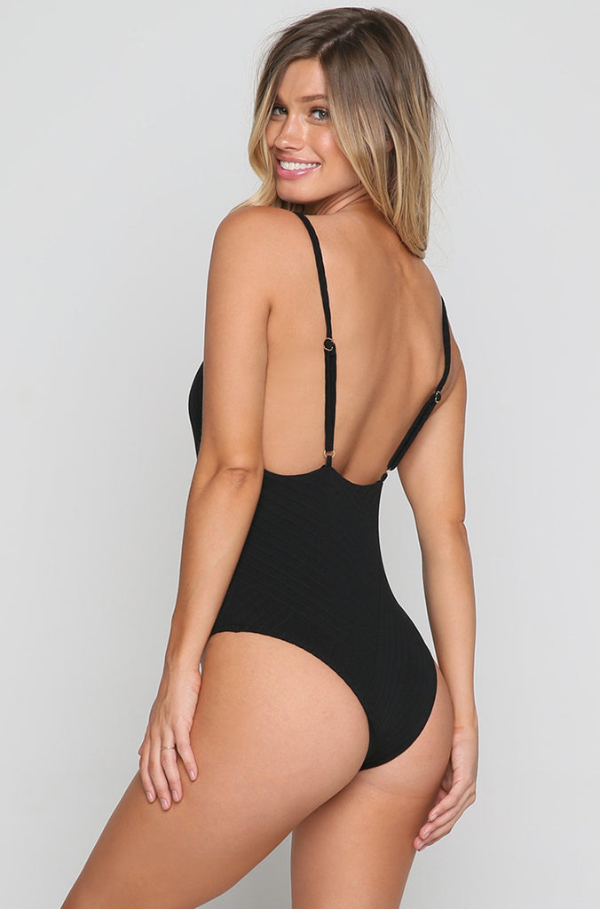 Bridget One Piece in Black