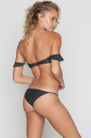 Tawny Skimpy Bottom in Black Sands