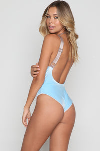 Collette One Piece in Crystal Velvet