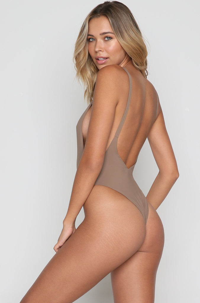Elle One Piece in Mocha