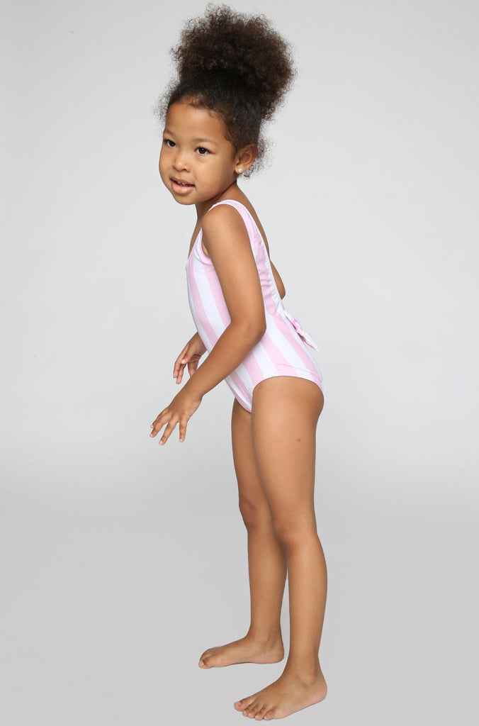 Lolli Swimwear 2016 Sweetie Babykini One Piece in Pinky Stripes|ISHINE365 - 4