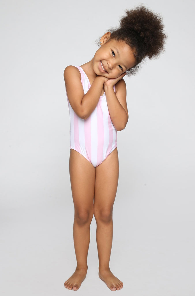Lolli Swimwear 2016 Sweetie Babykini One Piece in Pinky Stripes|ISHINE365 - 1