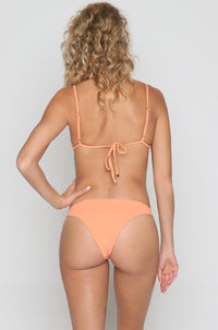 Pool Partee Bikini Bottom in Peach