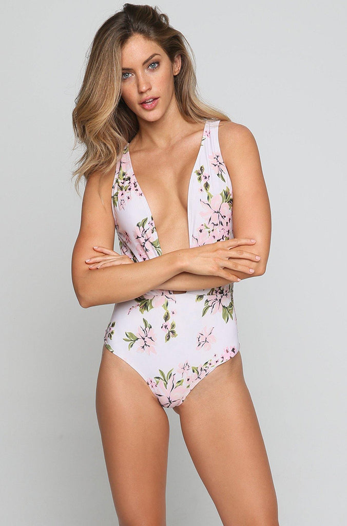 Aruba One Piece in Pink Floral