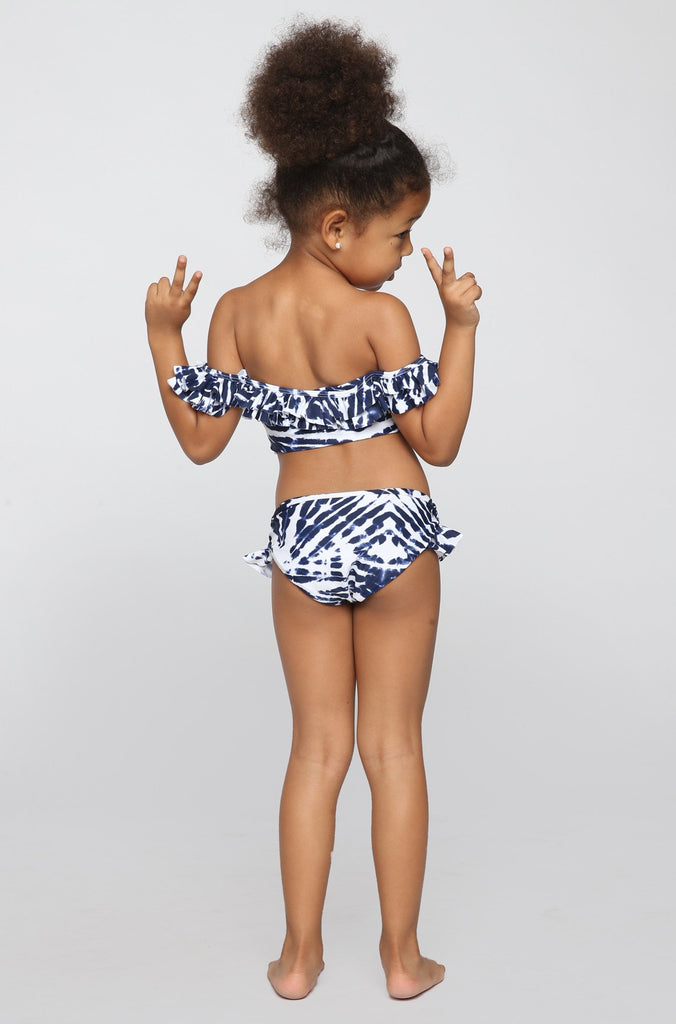 MIKOH SWIMWEAR 2016 Mini Havana/Sardinia Bikini in Wave Coastal Blue (Child Bikini)|ISHINE365 - 2