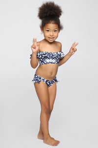 MIKOH SWIMWEAR 2016 Mini Havana/Sardinia Bikini in Wave Coastal Blue (Child Bikini)|ISHINE365 - 1