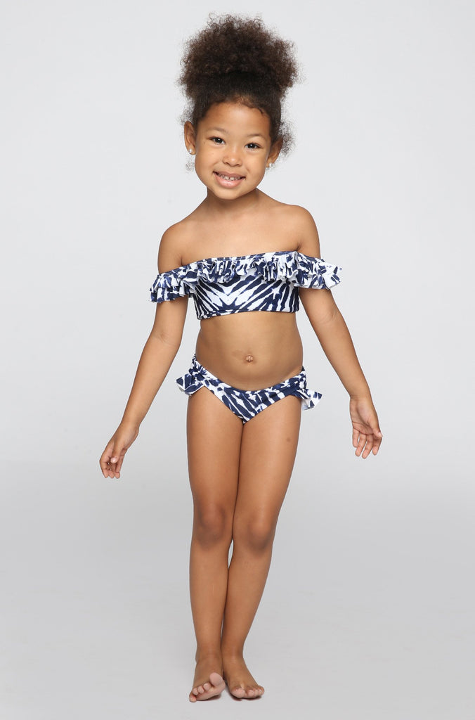 MIKOH SWIMWEAR 2016 Mini Havana/Sardinia Bikini in Wave Coastal Blue (Child Bikini)|ISHINE365 - 4