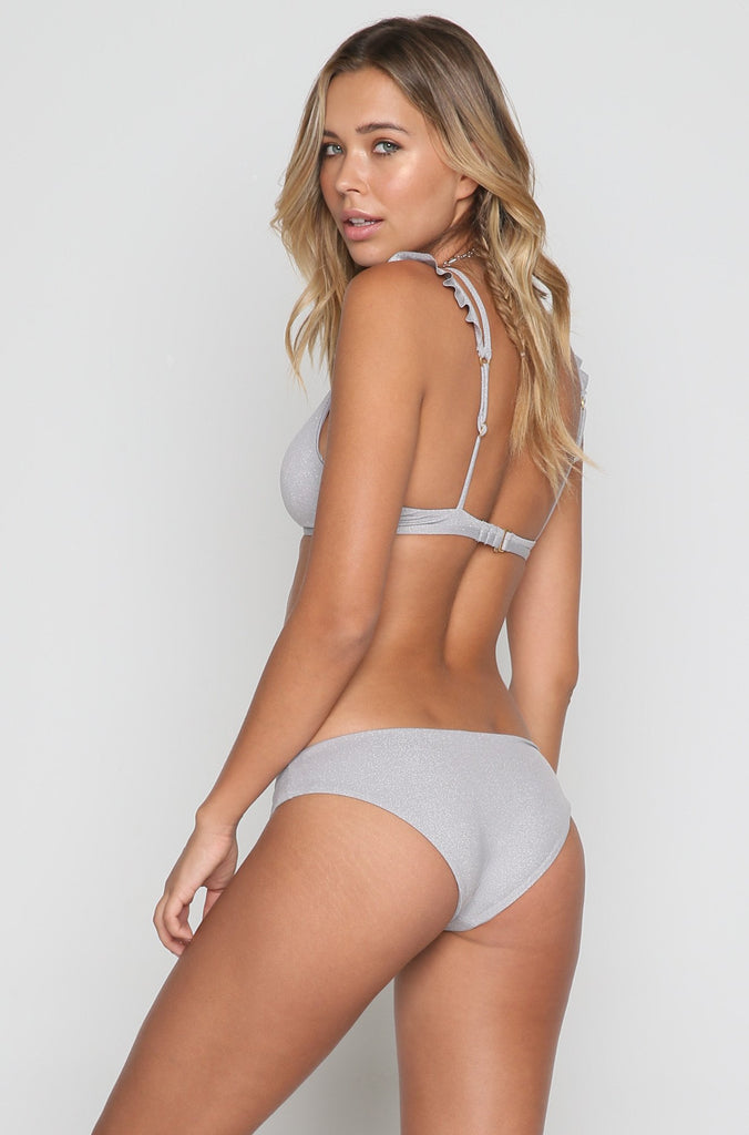 Kingsley Bikini Top in Fog Grey