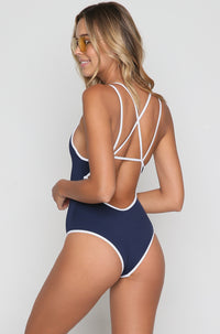 Dakota One Piece in Midnight Blue