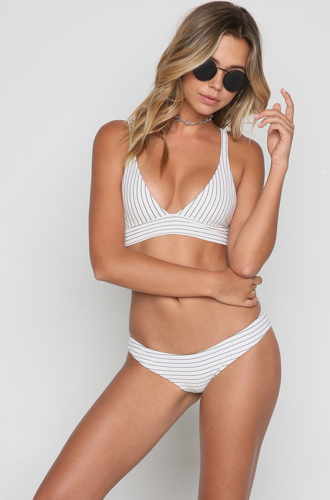 Fillis The Firecracker Bikini Top in Bandit
