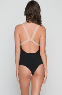Isabella One Piece in Latte/Storm