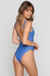Mojito Monday One Piece in Electric Blue