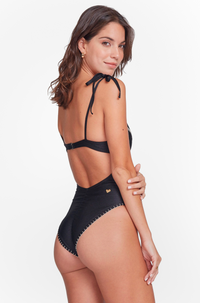 Alma One Piece in Black