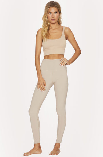 Ayla Legging in Tan