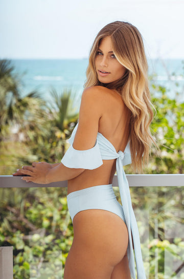 Sideout! High Rise Bottom in Laguna Blue