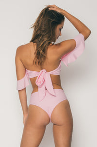 Sideout! High Rise Bottom in Samantha Pink