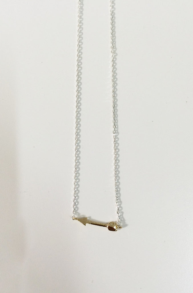 Natalie B Jewelry Cupids Arrow Necklace|ISHINE365 - 5
