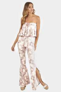 Bardot Pants in Blush Tie Dye