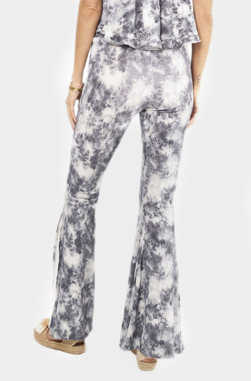 Bardot Pants in Grey Tie Dye