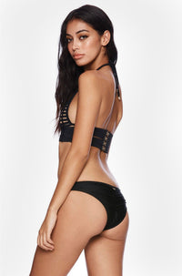 Hard Summer Skimpy Bottom in Black