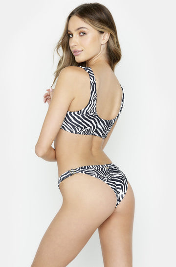 Reese Skimpy Bottom in Zebra