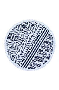 The Beach People The Aztec Roundie Beach Towel|ISHINE365 - 1