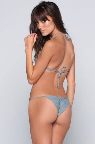 Bettinis Swimwear Minimal Bikini Bottom in Slate|ISHINE365 - 1