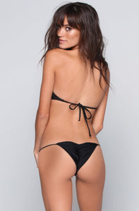 Bettinis Swimwear Minimal Bottom in Black|ISHINE365 - 1