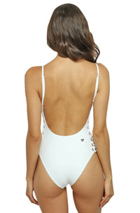 Blanca One Piece in White