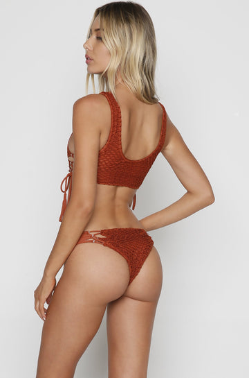 Papio Crochet Bottom in Mai Tai