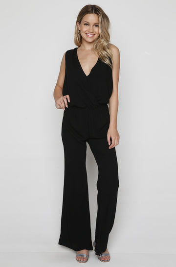 Ember Jumpsuit in Black