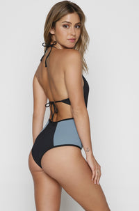 Fireside One Piece in Black