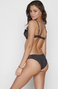 Sandy Bikini Bottom in Black